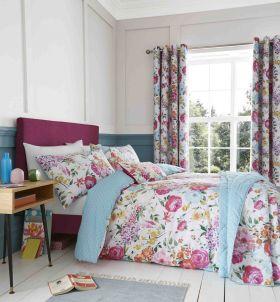 Catherine Lansfield Salisbury Easy Care Duvet Set